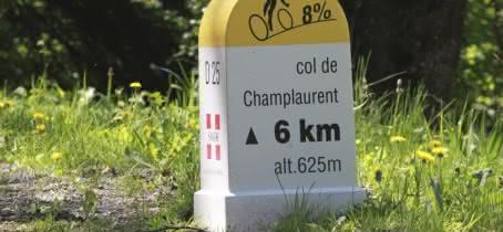 Borne col de Champlaurent