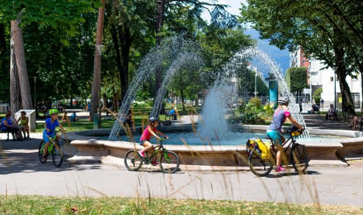 Parc du Verney fontaine
