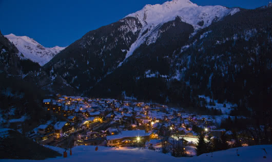Champagny village - hiver (nuit)