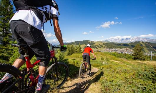 Itinéraires VTT depuis le sommet de Bisanne
