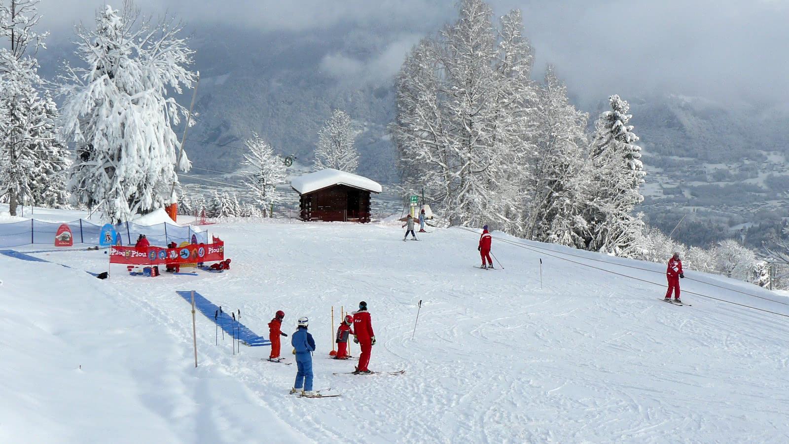 Espace des lutins, sur le domaine skiable de Cordon