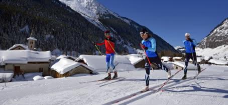 Ski de fond- la Plagne
