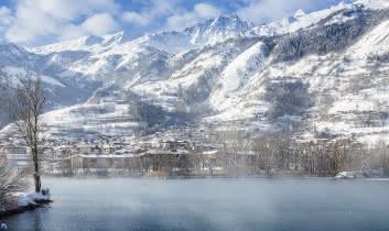 Bourg Saint Maurice en hiver