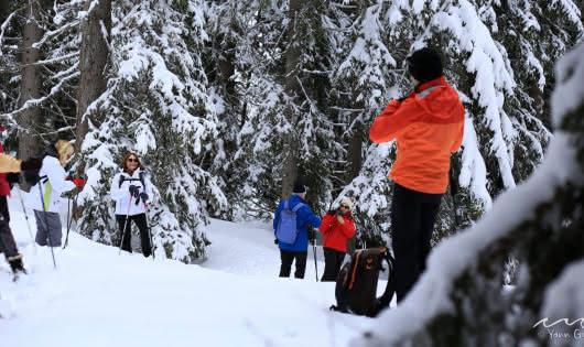 Balade au pays de l'hiver avec Anne-Marie