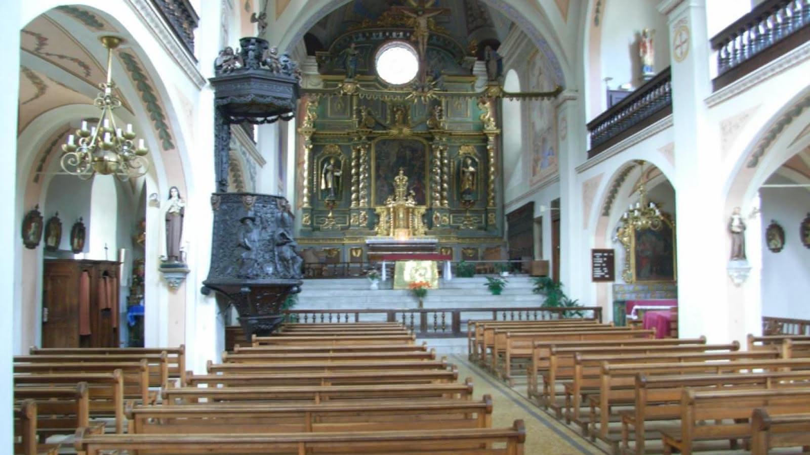 Intérieur Eglise de Beaufort