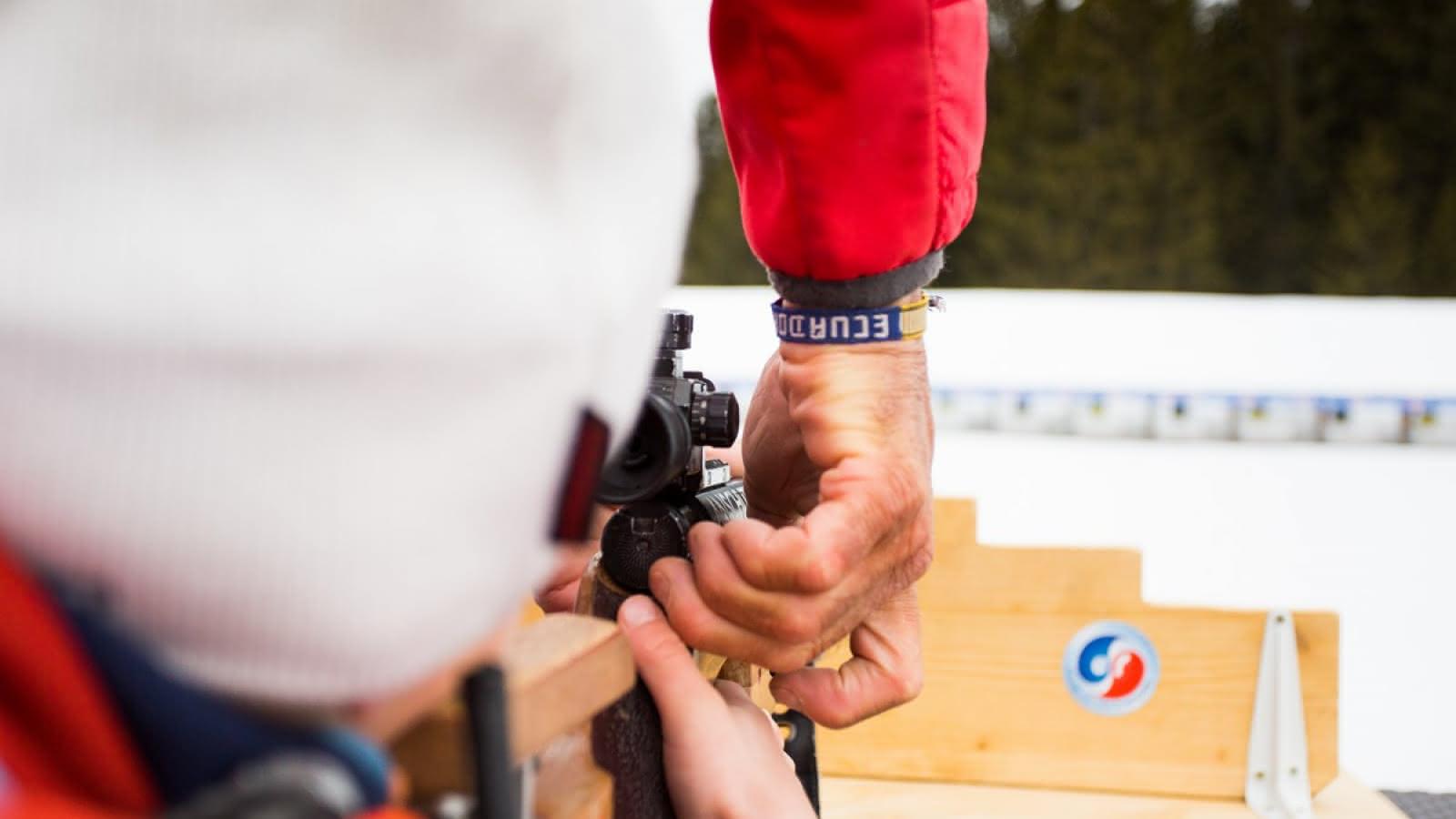 Découverte du Biathlon aux Saisies
