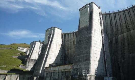 Barrage de la Girotte - Beaufortain