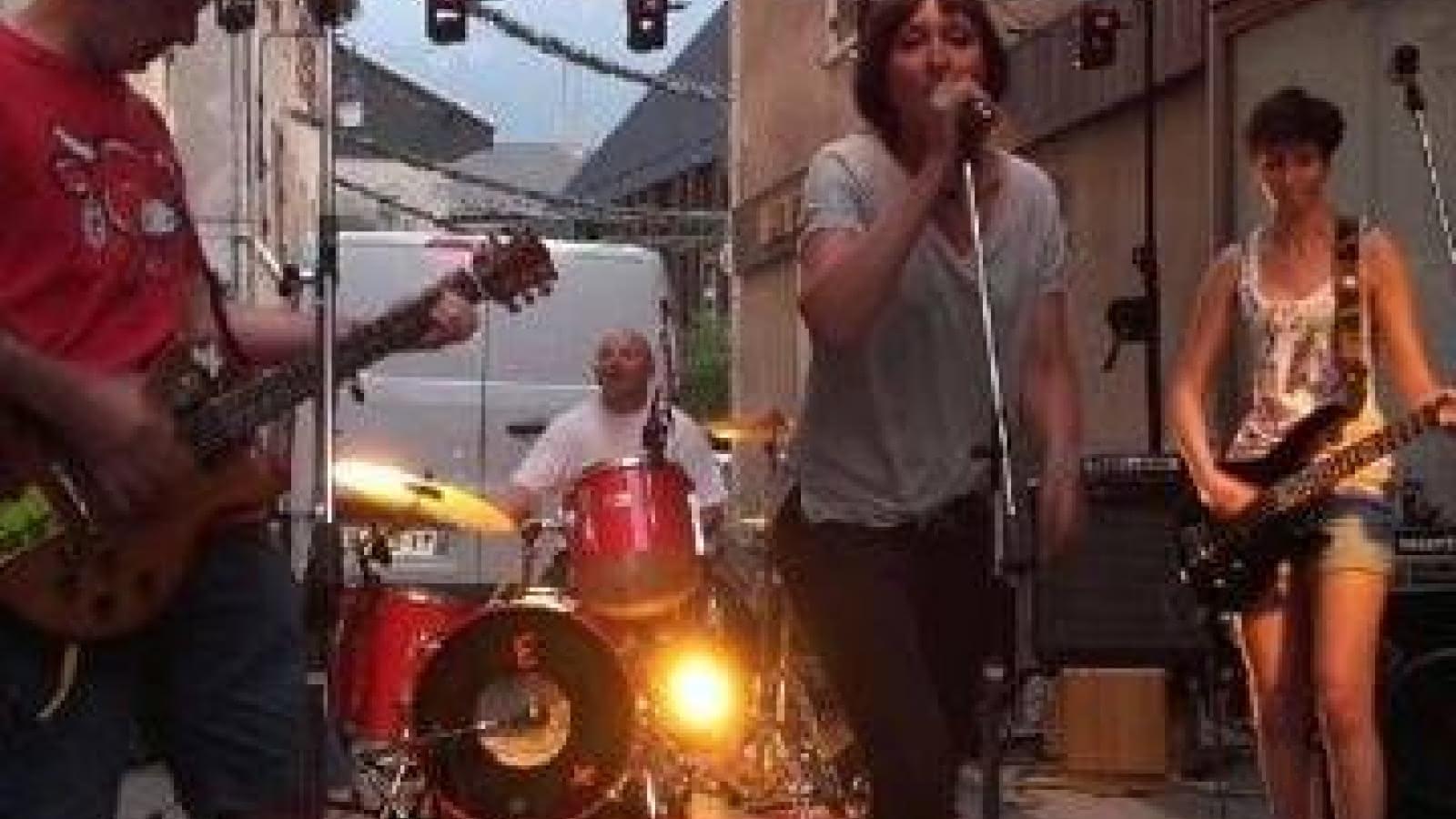 Concert en pleine rue