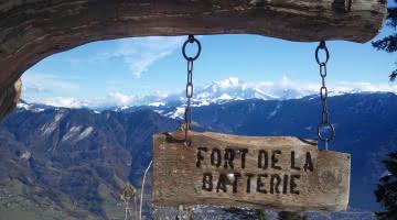Vue sur le Mont-Blanc