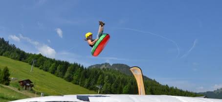 tubby jump en vol