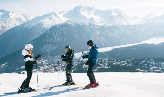 Ski à Courchevel1850
