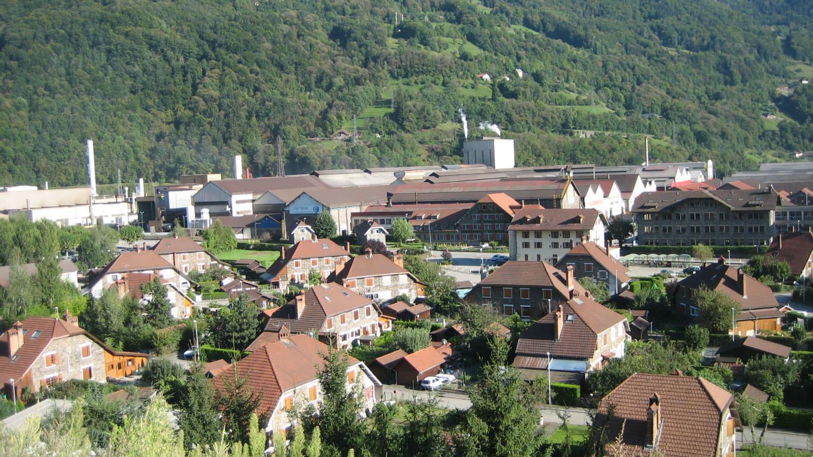 Vue du Nouveau Village - Robert Fournez