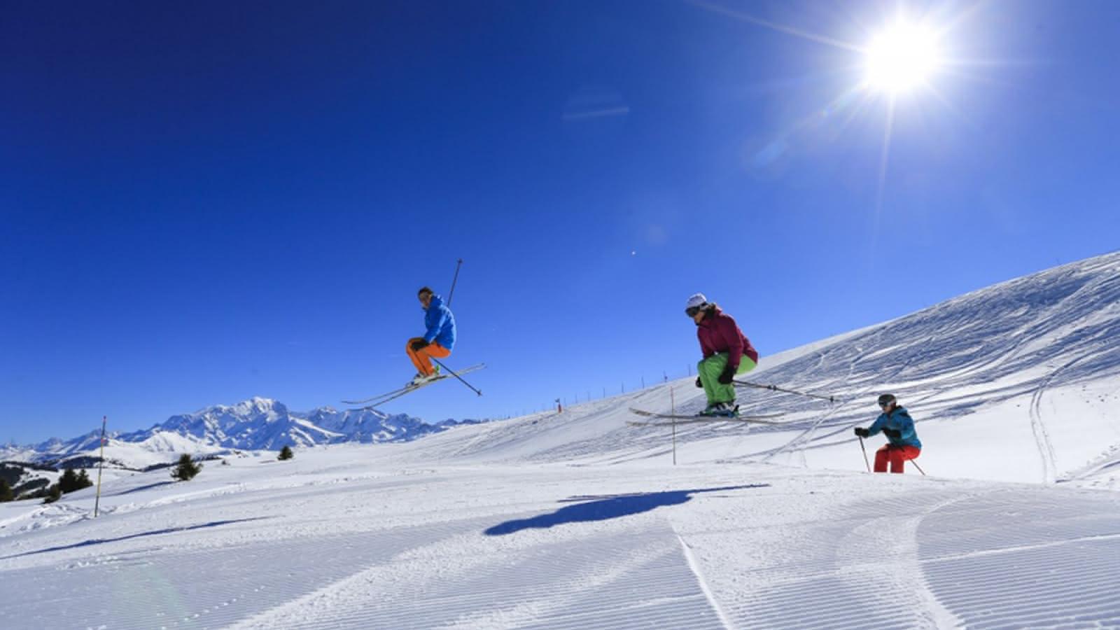 Ski en janvier aux Saisies