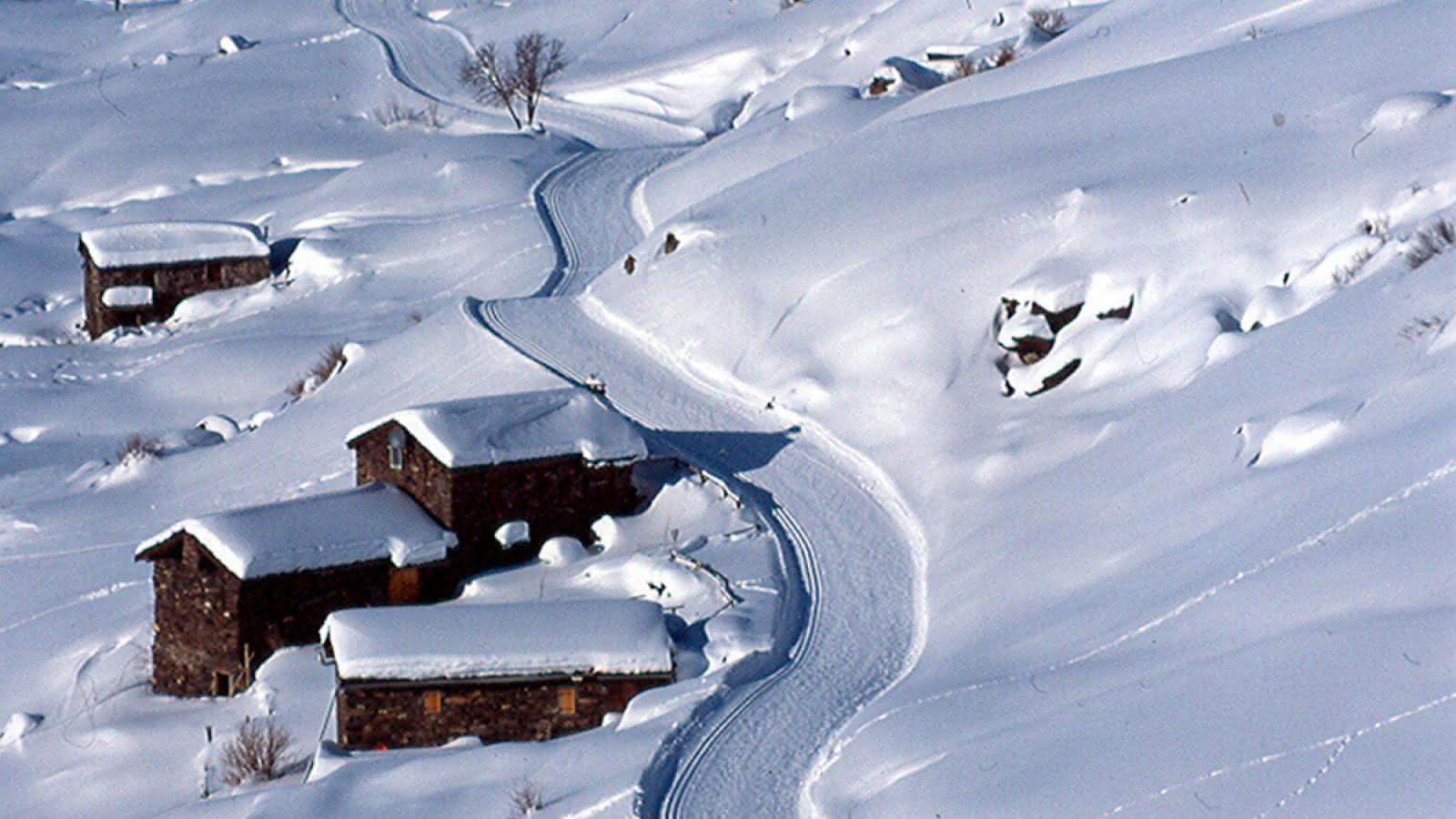 Les Menuires/Saint Martin de Belleville - Ski de fond